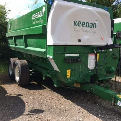 2014 Keenan Mechfiber 360 Feeding Wagon for sale at Collings Brothers of Abbotsley