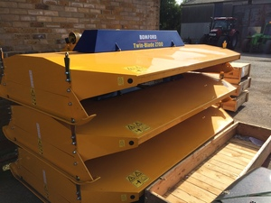 Bomford Twin Blade Topper for sale at Collings Brothers of Abbotsley