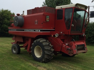 Case IH 1460 Axial Flow Combine Harvester for sale at Collings Brothers of Abbotsley