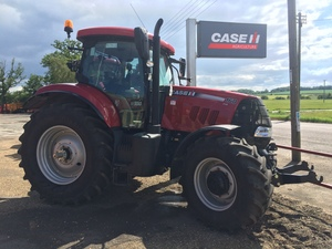 Case IH Puma 160 CVX Tractor for sale at Collings Brothers of Abbotsley