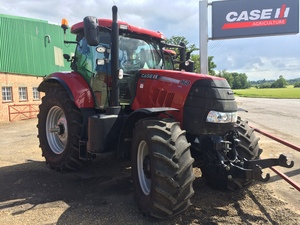 Case IH Puma 160CVX Tractor for sale at Collings Brothers of Abbotsley