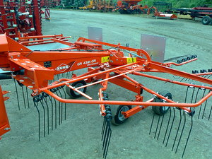 Kuhn GA4321 GM Single Rotor Rake for sale at Collings Brothers of Abbotsley