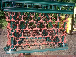 Weaving 5 metre folding harrow for sale at Collings Brothers of Abbotsley