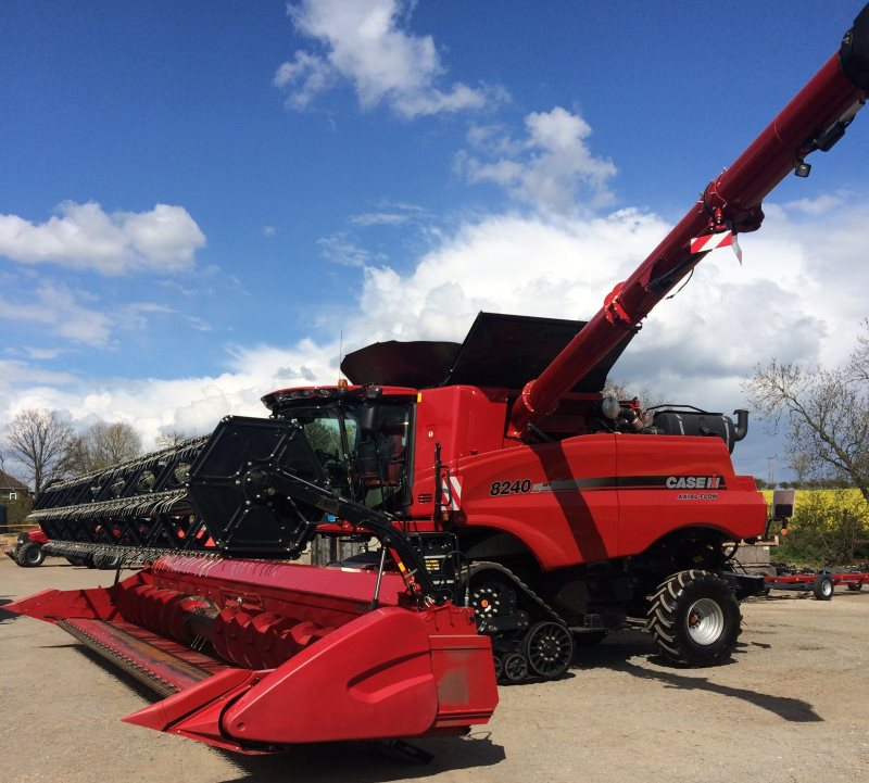 Case IH 8240 Axial Flow Combine Harvester for sale at Collings Brothers of Abbotsley, St Neots, Cambridgeshire