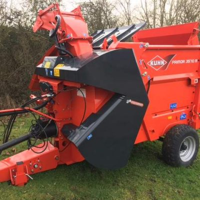 Kuhn Primor 3570 Straw Blower Feeder for sale at Collings Brothers of Abbotsley, St Neots, Cambridgeshire