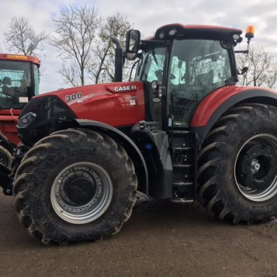 Case IH Optum 300 CVX Tractor fro sale at Collings Brothers of Abbotsley