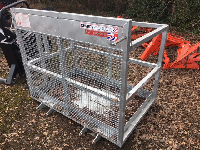 Cherry Products 2 Man Cage for sale at Collings Brothers of Abbotsley