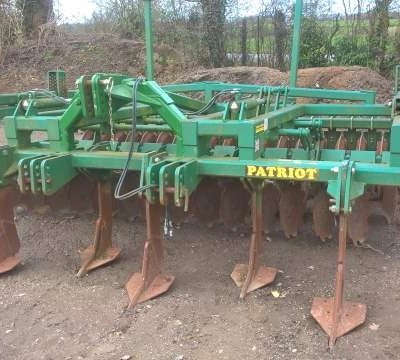 Second Hand Cousins Patriot Cultivator for sale at Collings Brothers of Abbotsley