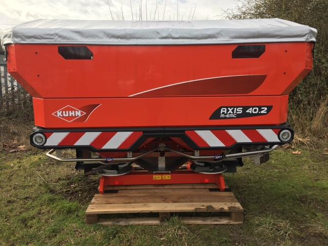 Kuhn 40.2 M-EMC Fertiliser Spreader for sale at Collings Brothers of Abbotsley