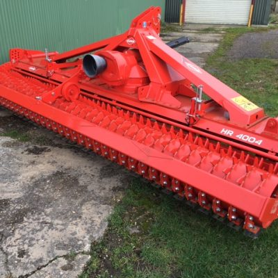 Second hand Kuhn 4004D Power Harrow for sale at Collings Brothers of Abbotsley, St Neots, Cambs.