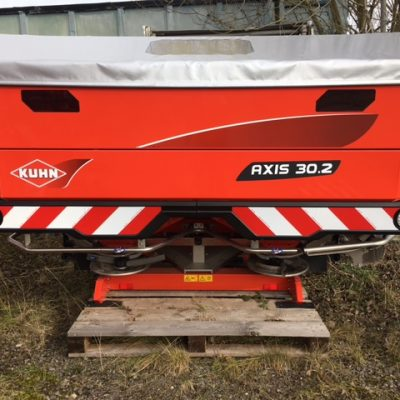 Kuhn Axis 30.2 Fertiliser Spreader for sale at Collings Brothers of Abbotsley