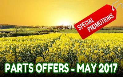 Collings Brother Spare Parts Special Offers May 2017