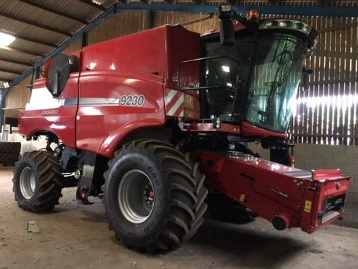 Case IH Axial Flow 9230 Combine Harvester for sale at Collings Brothers of Abbotsley, St Neots, Cambridgeshire