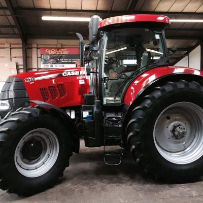 Case IH Puma 160CVX Ex Hire Tractor for sale at Collings Brothers of Abbotsley, St Neots, Cambridgeshire