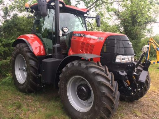 Case IH Puma 165CVX Ex Hire Tractor for sale at Collings Brothers of Abbotsley, St Neots, Cambridgeshire