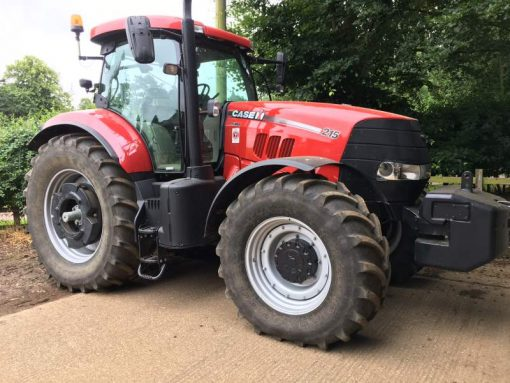 Case IH Puma 210 EHR Tractor for sale at Collings Brothers of Abbotsley, St Neots, Cambridgeshire