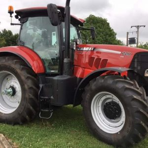Case IH Puma 220CVX EX Hire Tractor for sale at Collings Brothers of Abbotsley, St Neots, Cambridgeshire