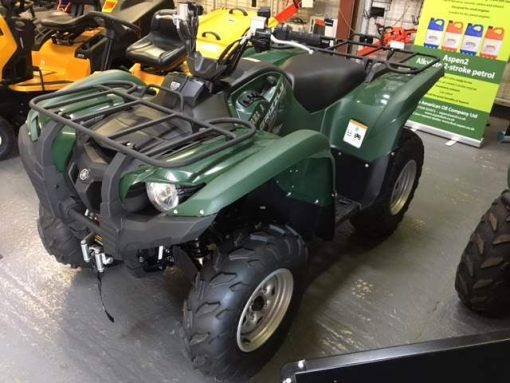 Used Yamaha Grizzly 550 Quad Bike for sale at Collings Brothers of Abbotsley, St Neots, Cambridgeshire