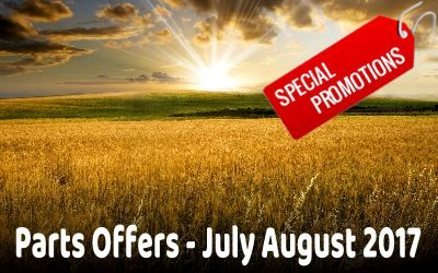 Parts Offers July August 2017