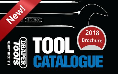 2018 Draper Tools Catalogue out now!