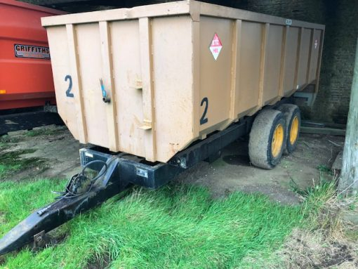 ETC Goliath Grain Trailer for sale at Collings Brothers of Abbotsley, Cambridgeshire
