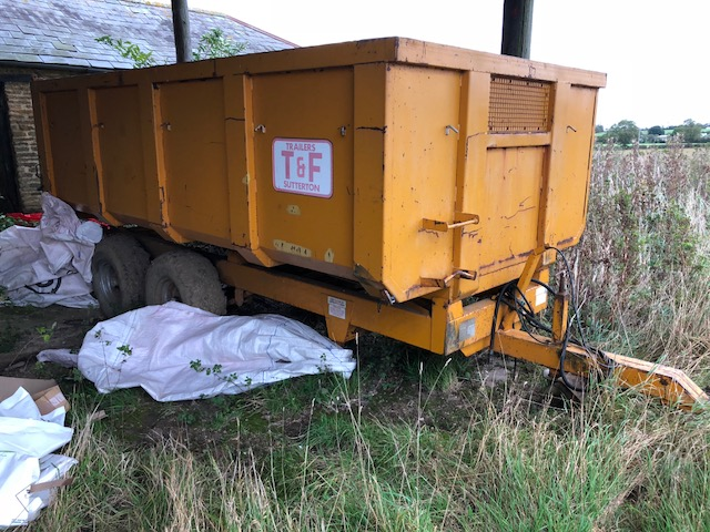 T&F Grain Trailer for sale at Collings Brothers of Abbotsley, Cambridgeshire