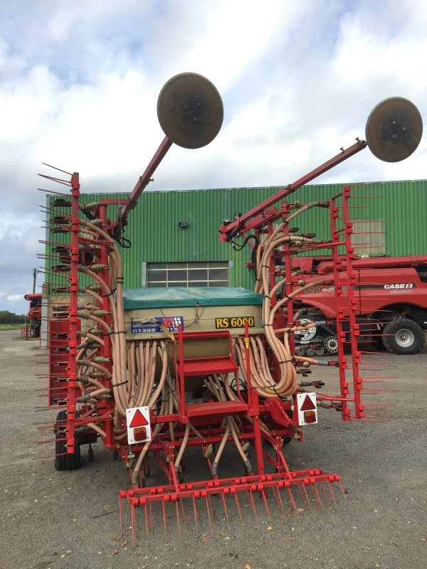 Weaving Machinery 6.6 metre Tine Drill for sale at Collings Brothers of Abbotsley, Cambridgeshire