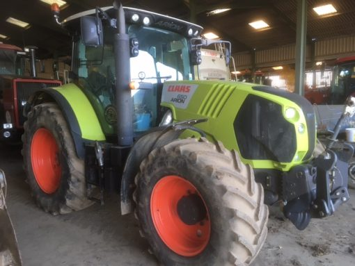 Claas 650 Arion Tractor for sale at Collings Brothers of Abbotsley, St Neots, Cambridgeshire