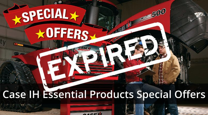 Case IH Essential Products Special Offers