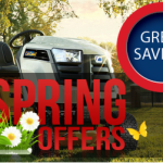 Garden Machinery Spring Special Offers in stock now at Collings Brothers of Abbotsley, St Neots, Cambridgeshire, UK