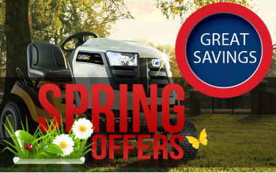 Garden Machinery Spring Special Offers