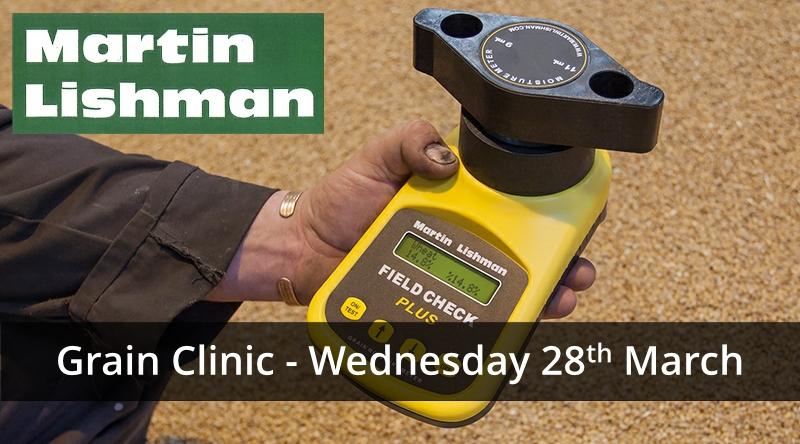 Martin Lishman Grain Clinic 2018