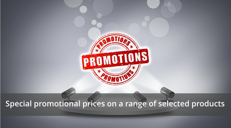 Special Promotional Parts Offers