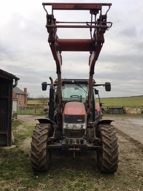 Case IH Maxxum 110 EP Tractor for sale at Collings Brothers of Abbotsley, St Neots, Cambridgeshire
