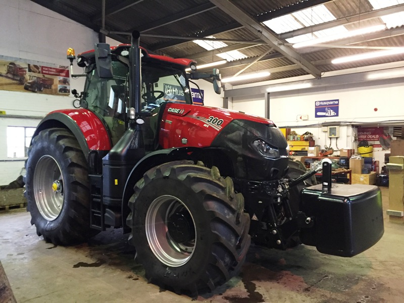 Case IH Optum 300 CVX Tractor for sale   Collings Brothers