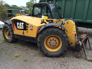 Caterpillar TH406AG Telehandler fro sale at Collings Brothers of Abbotsley