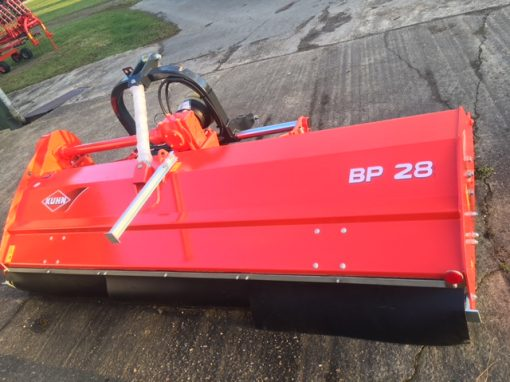 Kuhn BP28 Shredder for sale at Collings Brothers of Abbotsley, St Neots, Cambridgeshire, PE19 6TZ,