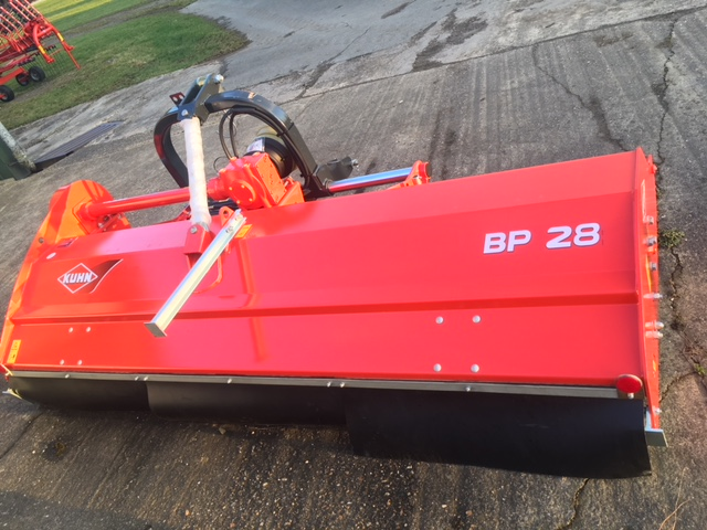 Kuhn BP28 Shredder for sale   Collings Brothers of Abbotsley