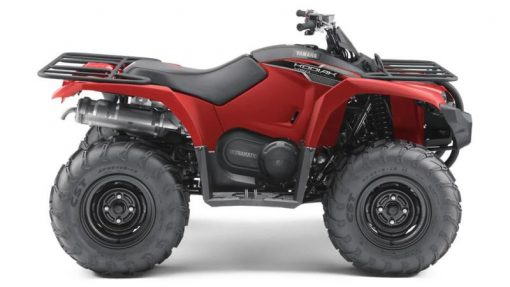Red Yamaha Kodiak 450 Quad Bike for sale at Collings Brother of Abbotsley, St Neots, Cambridgeshire, PE19 6TZ
