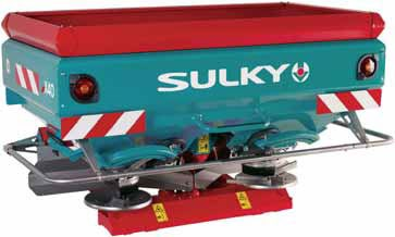 Sulky X40 WPB Fertiliser Spreader for sale at Collings Brothers of Abbotsley, St Neots, Cambridgeshire, PE19 6TZ