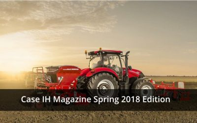 Case IH Magazine Spring 2018 Edition