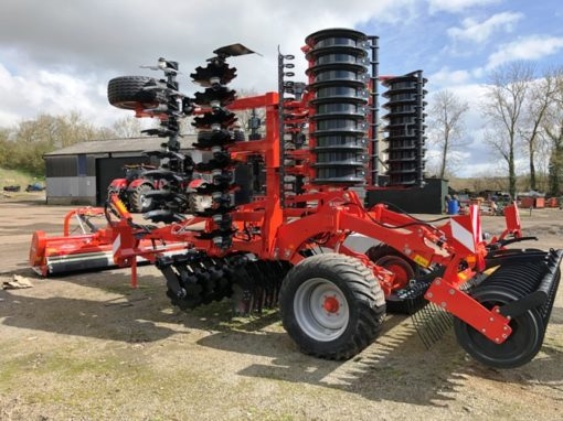 Kuhn Optimer + Stubble Cultivator