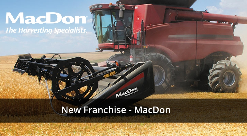 New Franchise MacDon Harvesting Equipment