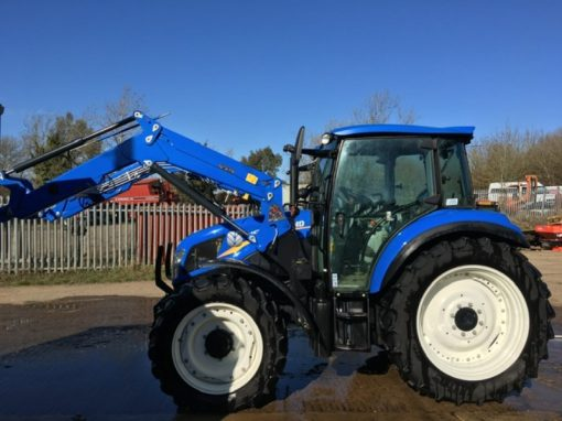 New Holland T4.85 Tractor and Loader
