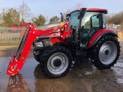 Case IH Farmall 105C Tractor and Loader