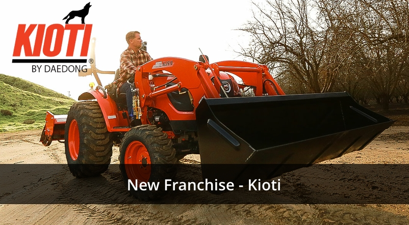 New Franchise Kioti