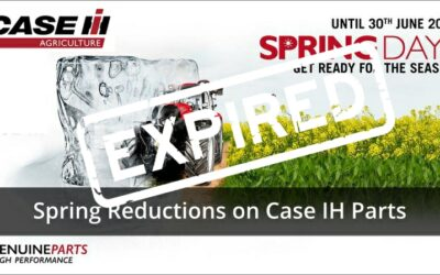 Case IH Spring Days Parts Offers