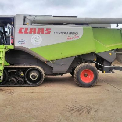 Claas Lexion 580 Terratrac Combine Harvester for sale