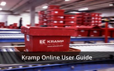 Kramp Online Parts Ordering Guidebook