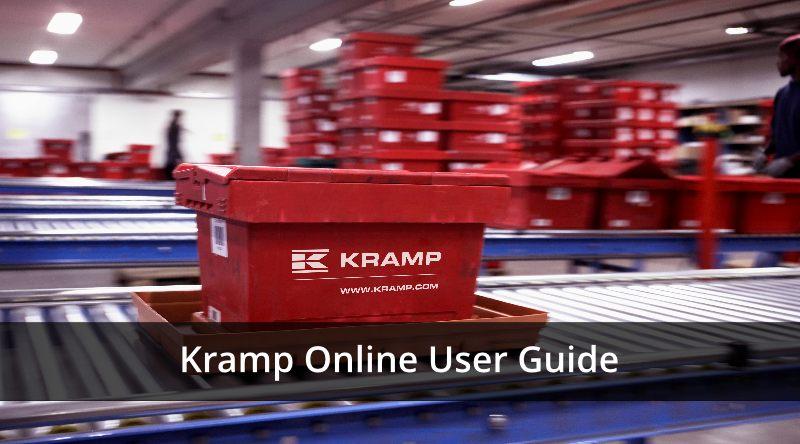 Kramp Online Parts Ordering Guidebook